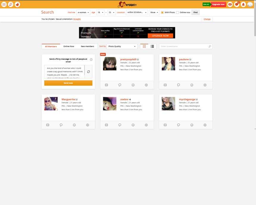 benaughty com review