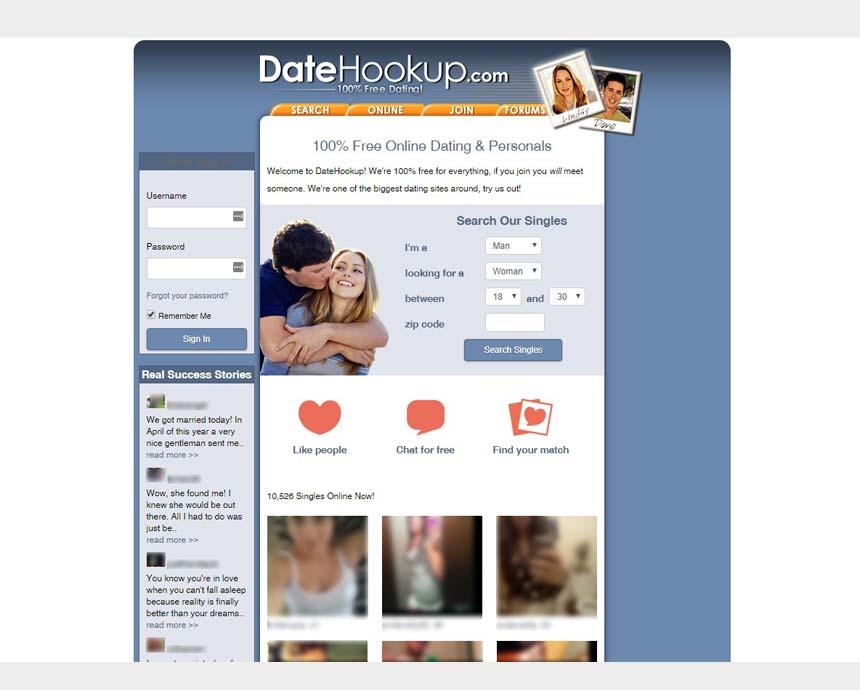 Dating sites zoals datehookup