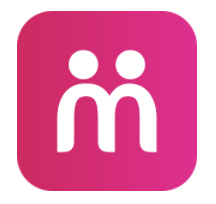 Moovz's dating app logo.