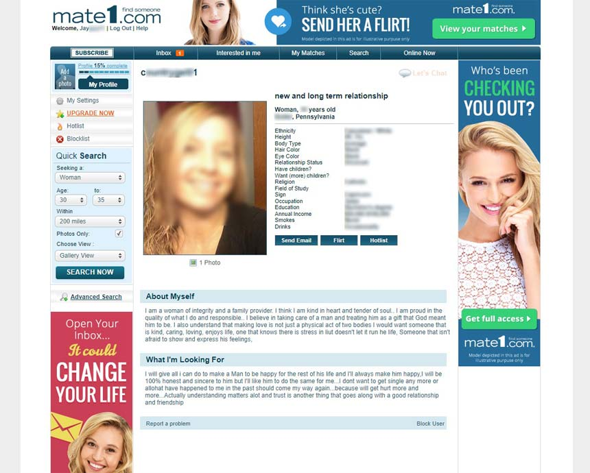 dating site mate1