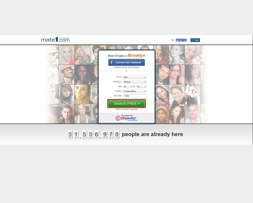 Mate1 dating service reviews