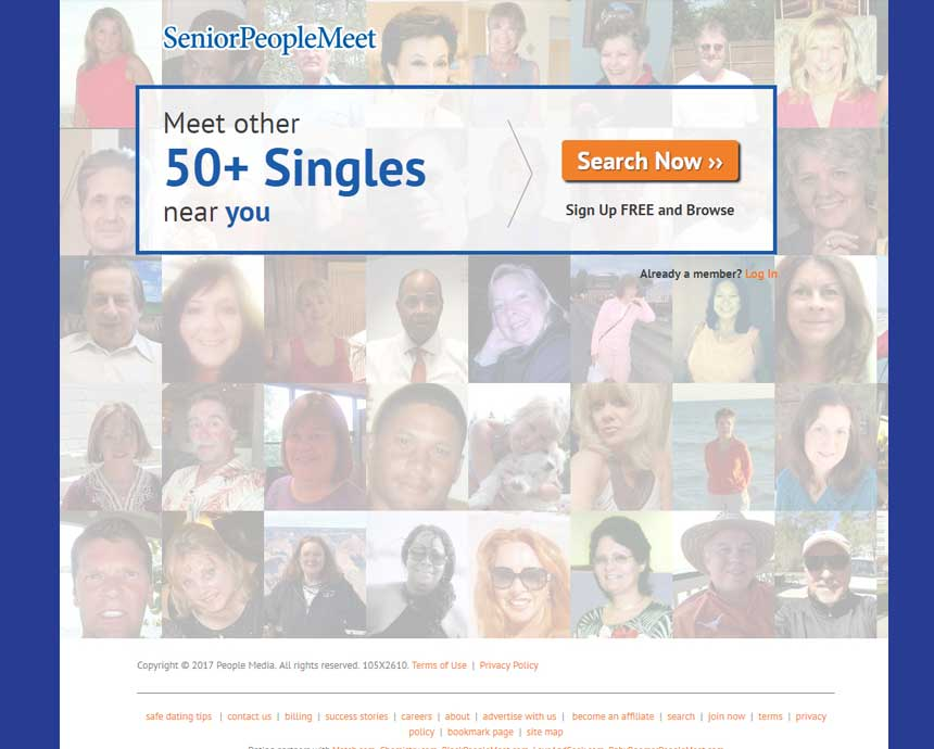 dating sites for seniors reviews ratings complaints